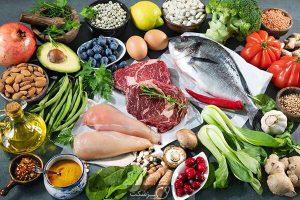پرروتئین ها و سبزیجات تقویت کننده عضلات بدن